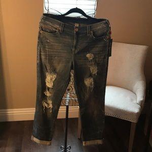 True Religion jeans Cameron slim Boyfriend W31